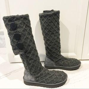 UGG Lattice Cardy Boots